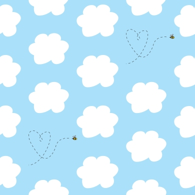 Clouds and Bees