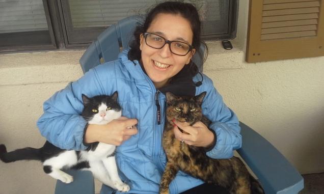 My Christmas Present: Two Abandoned Kitties