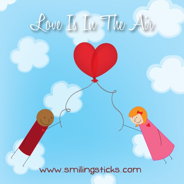 Love Is In The Air - Smile Monday