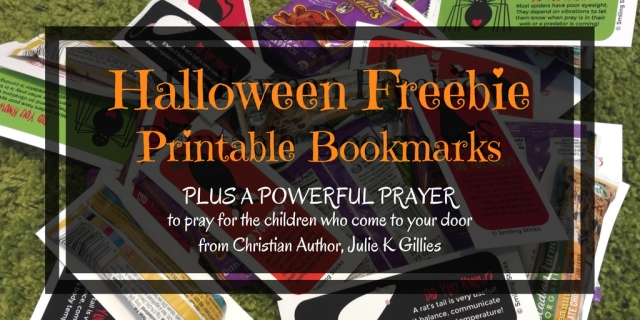 Halloween FreebiePrintable Bookmarks