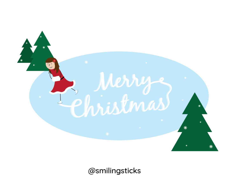 Christmas-Skater